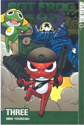 Sgt. Frog US mangá Cover