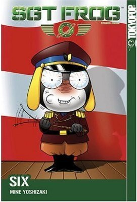 Sgt. Frog (Keroro Gunso) images Sgt. Frog US Manga Cover wallpaper and background photos