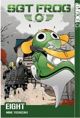 Sgt. Frog US Manga Cover - sgt-frog-keroro-gunso Photo