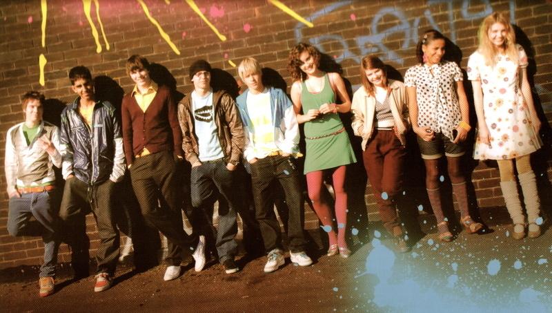 Skins Cast Series 1-2