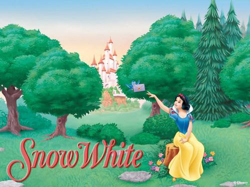 Snow White 바탕화면