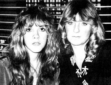 stevie nicks wallpaper probably with a well dressed person, a business suit, and a portrait entitled Stevie and Christine McVie