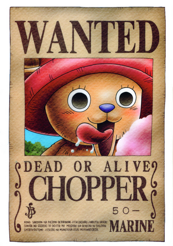 One Piece wallpaper called Straw Hats: Wanted