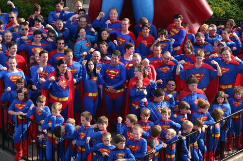 超人 fans!!!