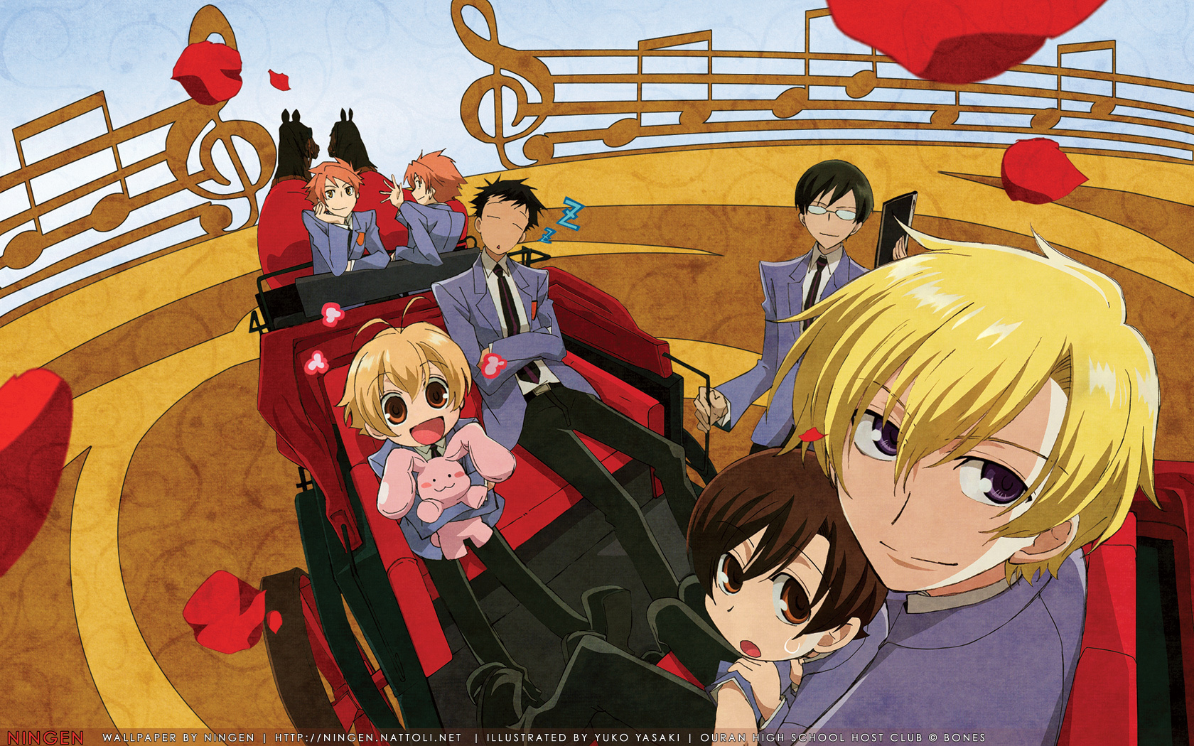 The Host Club - Ouran High School Host Club 1680x1050 1440x900 1280x800