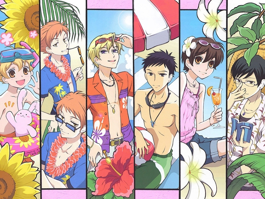 The Host Club - Ouran High School Host Club 1024x768 800x600