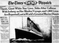 The Times Newspaper - rms-titanic photo