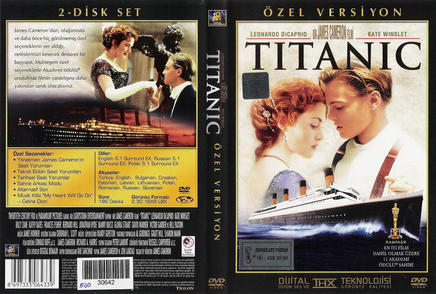 Titanic DVD Cover