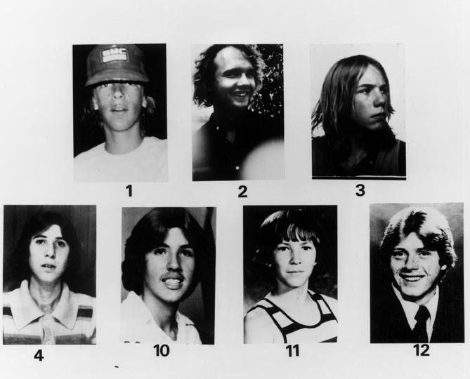 victims of the freeway killer