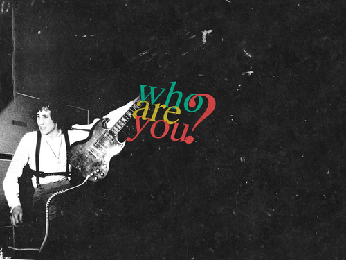Classic Rock wallpaper possibly containing a pacific sardine entitled Who are you?