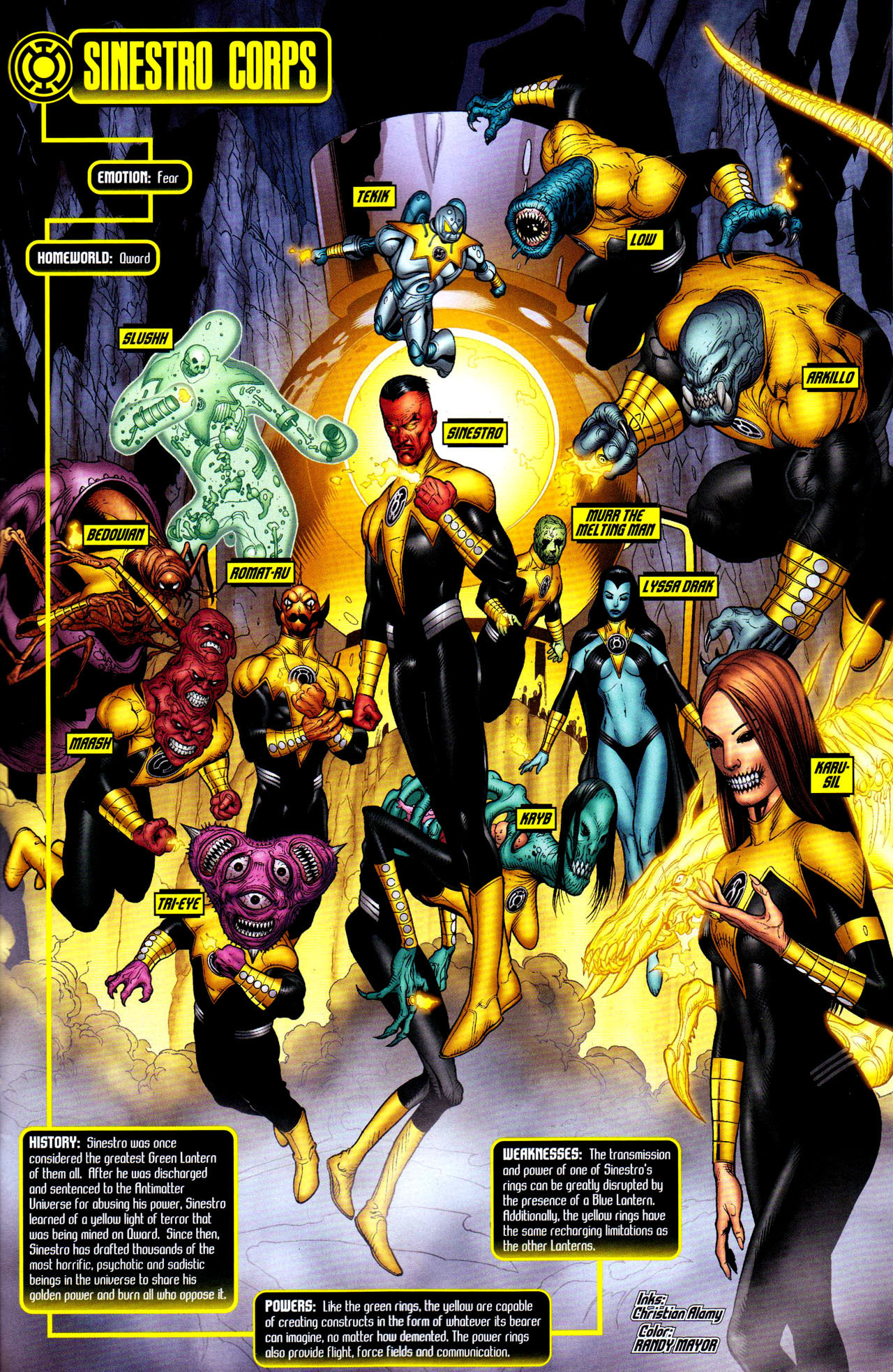 Yellow Lantern Corps - DC Comics Photo (5771083) - Fanpop