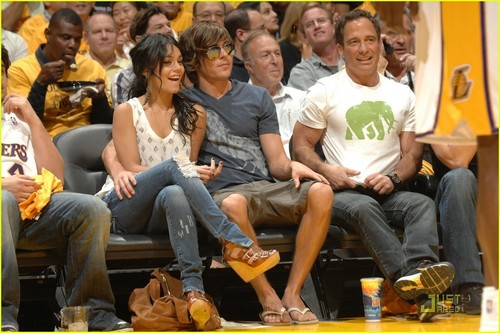 Zac @ LA Lakers Game
