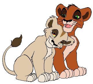 The lion king 2 zira and scar