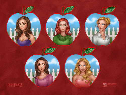dh - desperate-housewives Wallpaper