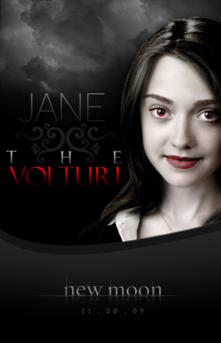 New Moon Movie wallpaper probably containing a portrait titled jane of the volturi