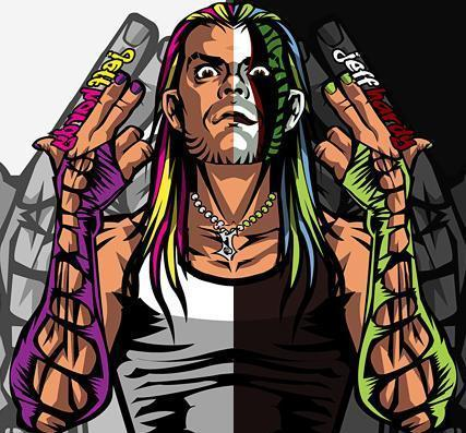 Jeff Hardy wallpaper with anime called jeff hardy