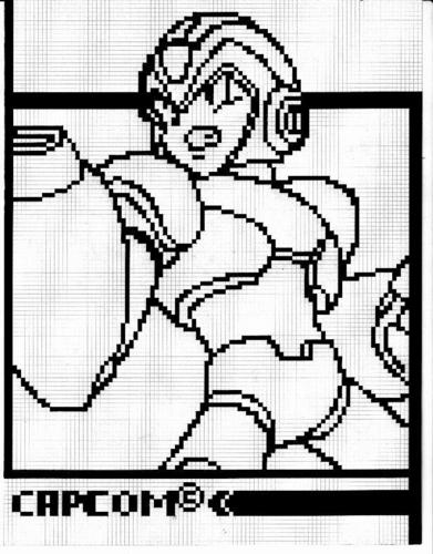 Megaman wallpaper possibly containing a fuoco screen and a chainlink fence entitled megaman X in pixel001