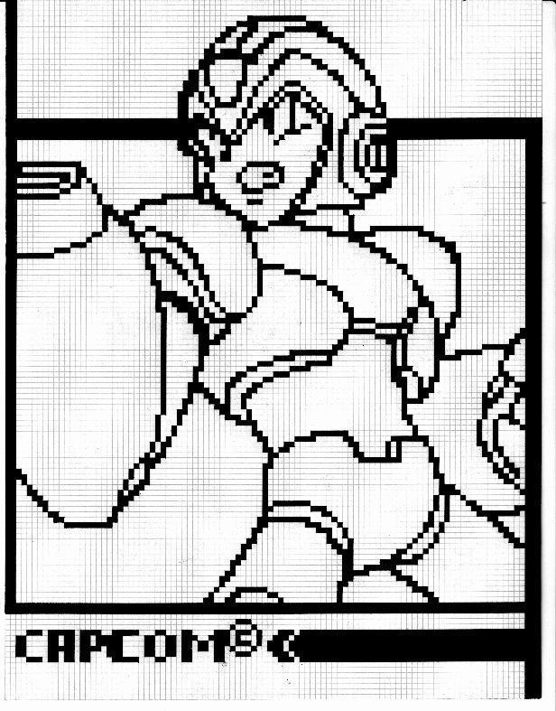 megaman X in pixel001