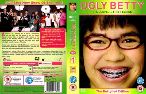 ugly betty season 1- region 2 dvd cover