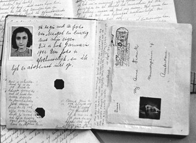 Anne Franks dagboek/diary