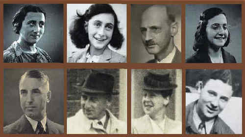 Anne, family and van pels - anne-frank Photo