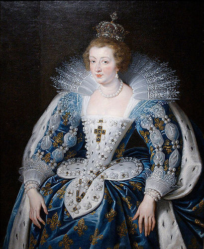 Anne of Austria, Queen Consort of France 1615-1643