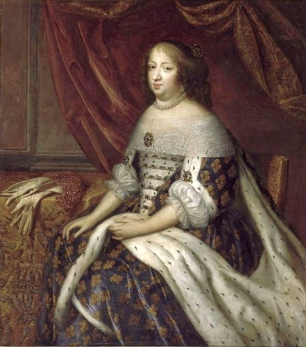 Anne of Austria, কুইন Consort of France