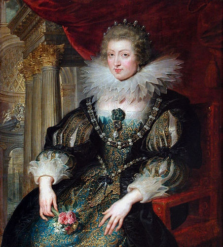 Anne of Austria, queen Consort of Louis XIII of France