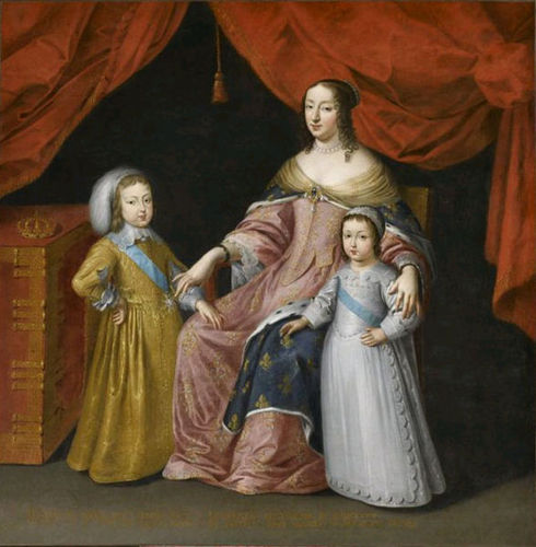 Anne of Austria with Her Sons