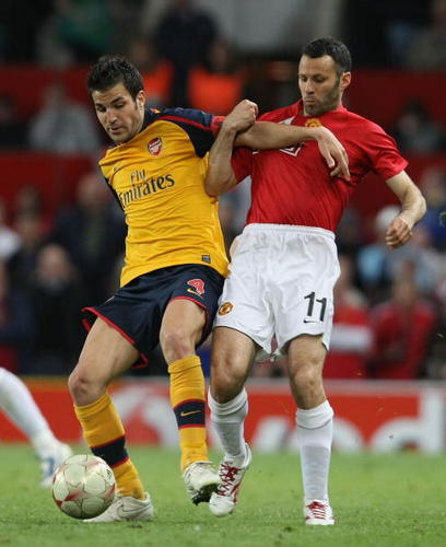 Arsenal vs ManU,April 29th,2009