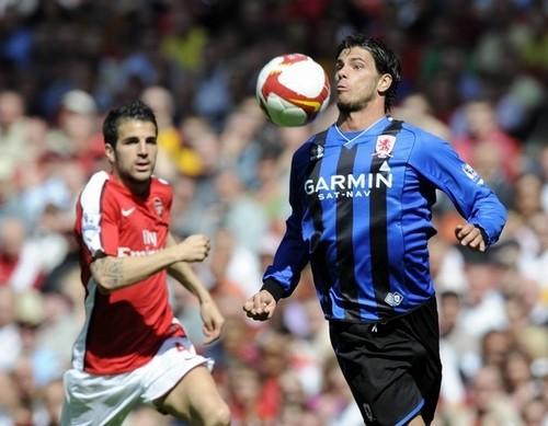 Arsenal vs. Middlesborough,April 26,2009