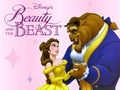Beauty and the Beast karatasi la kupamba ukuta