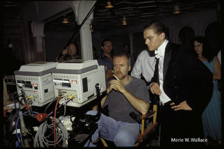 Titanic wallpaper entitled Behind the scenes