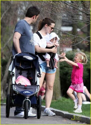 Ben, Jen, Violet, & Seraphina