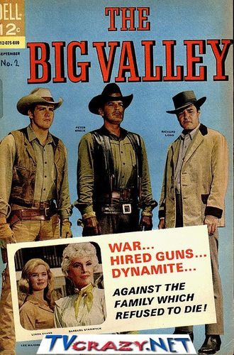 Big Valley comic book