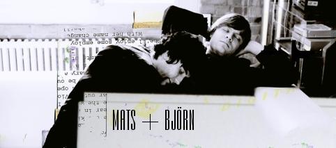 Björn + Mats sleeping Banner
