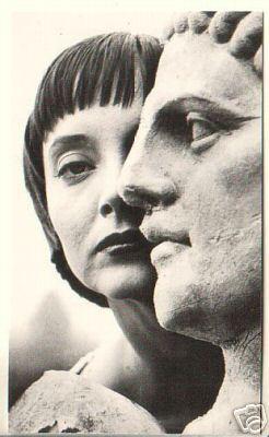 Carolyn & A Statue