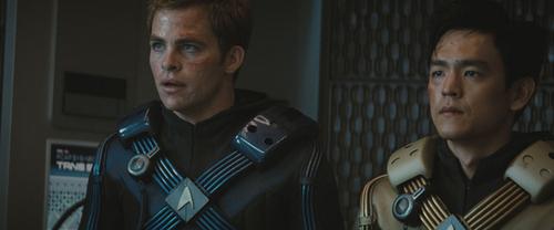 Chris- estrella Trek Promotional fotos