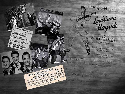 Louisiana Hayride - elvis-presley Wallpaper
