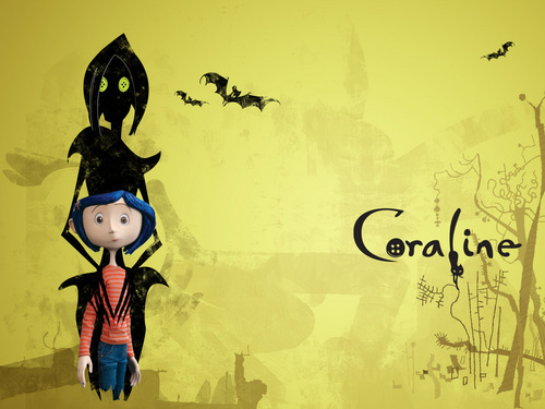Coraline wallpaper probably with Anime called Coraline wallpaper