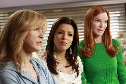 Desperate Housewives wallpaper containing a portrait entitled DH =)