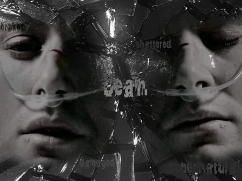 Damaged - dean-winchester Wallpaper