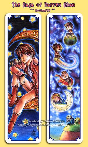 Darren shan bookmark অনুরাগী art