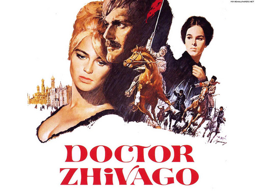 Classic Movies wallpaper with anime titled Doctor Zhivago Wallpaper