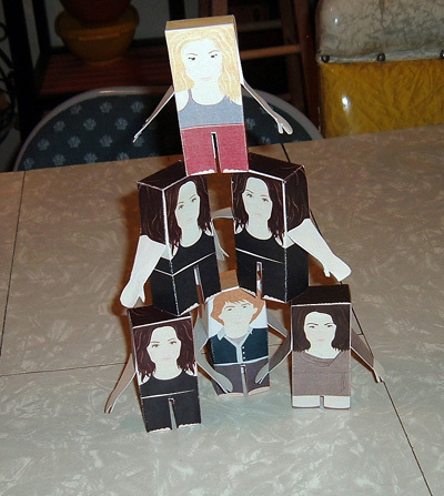 Dollhouse bambole