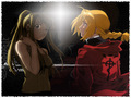 Ed and Winry - edward-elric-and-winry-rockbell wallpaper