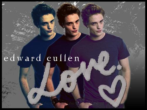 Edward Cullen is Love.