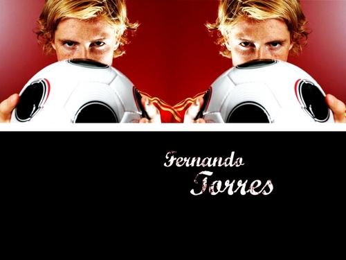 Fernando Torres দেওয়ালপত্র containing a ফুটবল ball called Fernando Torres দেওয়ালপত্র