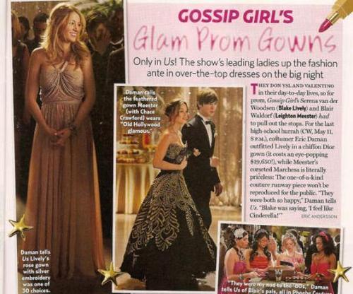 Gossip girl prom pic