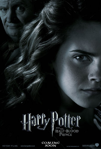 HERMIONE AND SLUGHORN IN HBP (NEW POSTER)